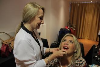 Nuestras modelos se maquillaron con los productos de Lucy Anderson
