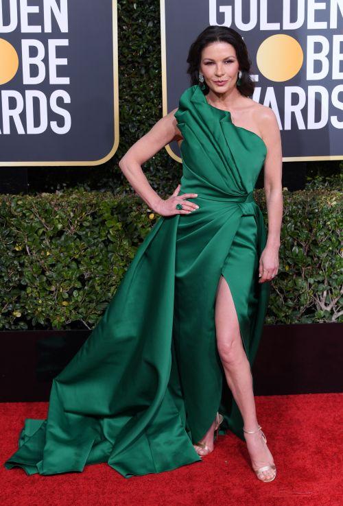 Catherine Zeta-Jones by Elie Saab Alta Costura.