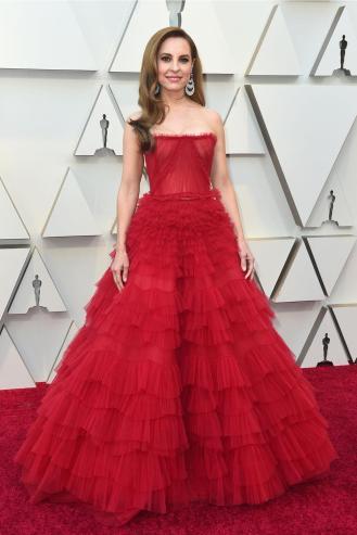 LLeno de tul: Marina de Tavira usa la textura de moda con mucha elegancia